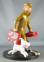 "Tintin - 17cm Plastic Figure ML 12- Tintin & Snowy ""They arrive!!\"""