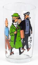 Tintin - Amora mustard glass 1983 - Tintin, Haddock, Calculus and the Thompsons