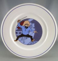 Tintin - Assiette Porcelaine Tables & Couleurs - Le Secret de la Licorne