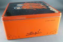 Tintin - Boite à gâteaux carrée Delacre - On a marché sur la Lune