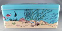 Tintin - Boite à gâteaux rectangulaire Delacre - Tintin et le Sous-Marin