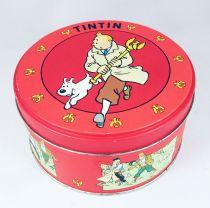 Tintin - Boite à gâteaux ronde Moulinsart - Le Sceptre d\'Ottokar
