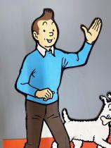 Tintin - Casterman POS Store Advertising (3,60 feet) - Tintin & Snowy
