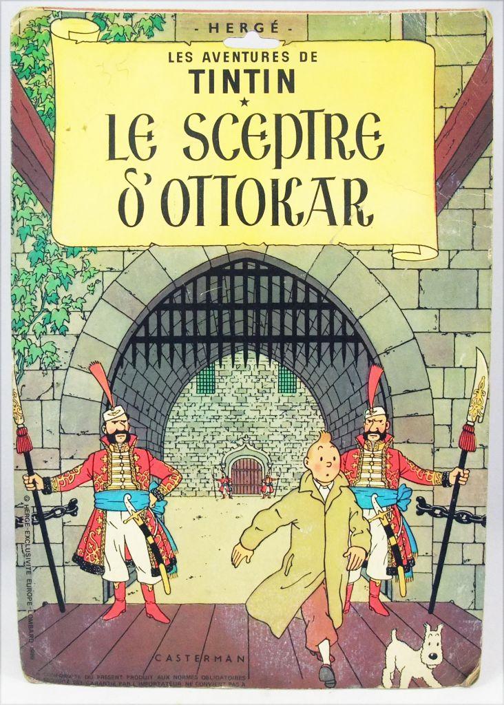 Tintin - CGI Lombard - Tenue \'\'Le Sceptre d\'Ottokar\'\' (neuve en blister)