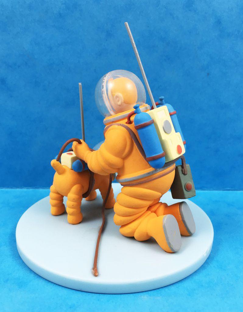 Tintin - Coffret Scène Moulinsart - Tintin & Milou Cosmonautes