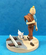 Tintin - Coffret Scène Moulinsart - Tintin et la Voie Ferrée