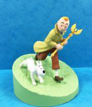 Tintin - Coffret Scène Moulinsart - Tintin et le sceptre d\'Ottokar