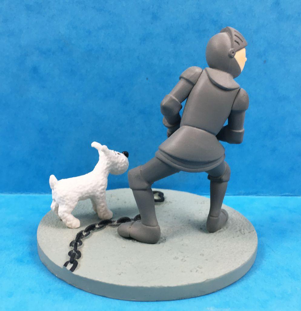 Tintin - Coffret Scène Moulinsart -Tintin en Armure