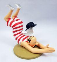 Tintin - Collection Officielle des Figurines Moulinsart - N°055 Dupont en baigneur