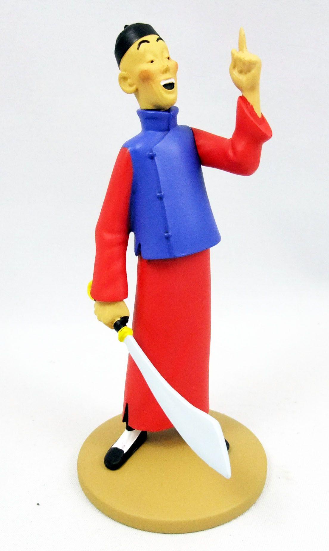 Figurine moulinsart tintin kuifje pvc Hergé 2011 rackham le rouge