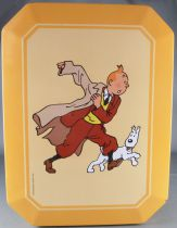 Tintin - Delacre Tin Cookie Box - Tintin & Snowy