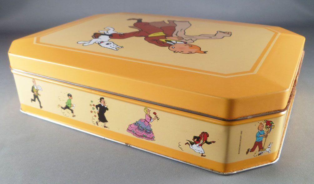 Tintin - Delacre Tin Cookie Box - Tintin & Snowy