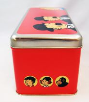 Tintin - Delacre Tin Cookie Box (Rectangular) - Hergé (the World of)