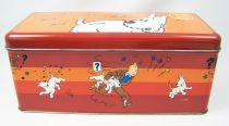 Tintin - Delacre Tin Cookie Box (Rectangular) - Milou