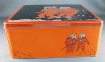 Tintin - Delacre Tin Cookie Box (Square) - On a marché sur la Lune