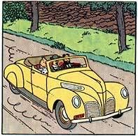 Tintin - Editions Atlas - N° 12 Mint in box Haddock\'s convertible from The 7 crystal balls