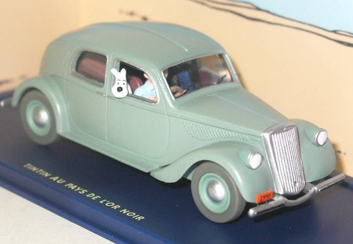 Tintin - Editions Atlas - N° 20 Mint in box Lancia Aprilia from Land of the black gold