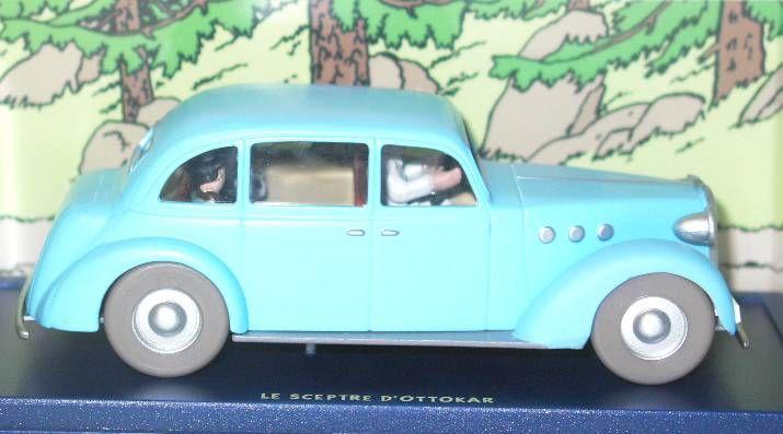 Tintin - Editions Atlas - N° 27 Mint in box Bianca Castafiore\\\'s car from Ottokar\\\'s sceptre