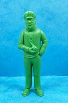 Tintin - Figurine monochrome Esso Belgique - Haddock (vert)