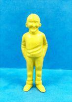 Tintin - Figurine monochrome Esso Belgique - Homme de main (petit) de Rastapopoulos (jaune)