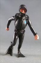 Tintin - Figurine plastique Esso France Belvision - Plongeur jambe pliée