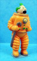 Tintin - Figurine pvc LU (1993) - Dupond / Dupont sur la Lune