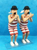 Tintin - Figurine PVC Moulinsart - Les Dupond(t) en maillot de bain