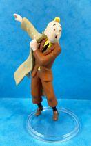 Tintin - Figurine PVC Moulinsart - Tintin enfilant son imperméable