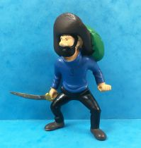 Tintin - Figurine pvc Plastoy - Haddock avec sabre