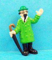 Tintin - Figurine PVC Schleich 1985 - Professeur Tournesol