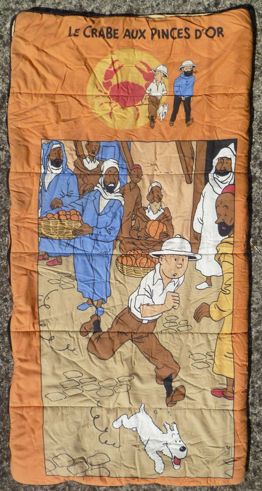 Tintin - Hergé-Tintin Licensing - Children Sleeping Bag The Crab with the Golden Claws