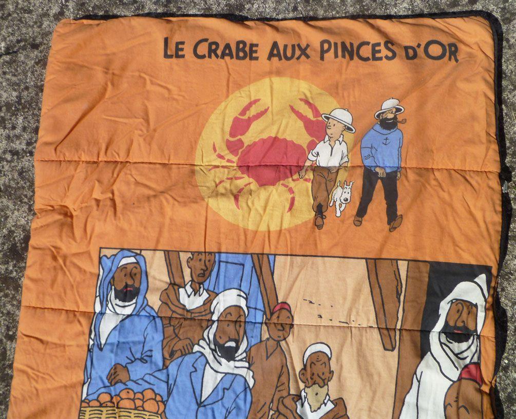 Tintin - Hergé-Tintin Licensing - Sac de Couchage Enfant Le Crabe aux Pinces d\'or