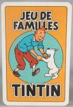 Tintin - Jeu de cartes de familles Carta Mundi 1993- Complet sans boite