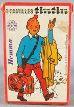 Tintin - Jeu de cartes des 7 familles Hemma 1983