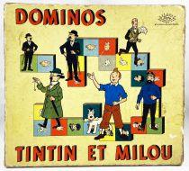 Tintin - Jeu de Dominos Noël Montbrison 1969