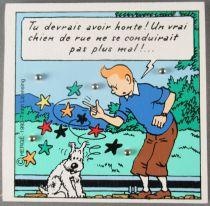 Tintin - Jeu de Patience Bois Trousselier - L\'Ile Noire