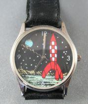 Tintin - Montre Bracelet Citime Grand Jeu Casterman 1997 - Objectif Lune