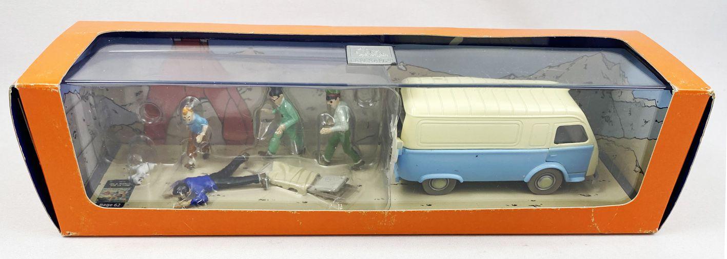 Tintin - Moulinsart - N° 03 L\'Ambulance de la Base (neuf en boite)