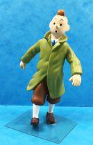 Tintin - Moulinsart PVC Figure - Tintin in trench coat