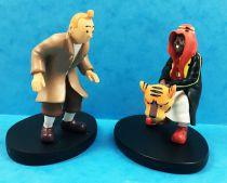 Tintin - Moulinsart Resin Figure - Tintin & Abdullah