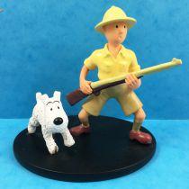 Tintin - Moulinsart Resin Figure - Tintin and Snowy explorer