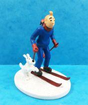Tintin - Moulinsart Resin Figure - Tintin on Ski