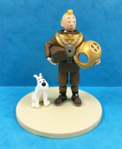 Tintin - Moulinsart Scene Collector Set - Scuba Tintin