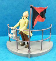 Tintin - Moulinsart Scene Collector Set - Tintin Aurore