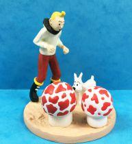 Tintin - Moulinsart Scene Collector Set - Tintin aviator