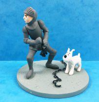 Tintin - Moulinsart Scene Collector Set - Tintin in Armor