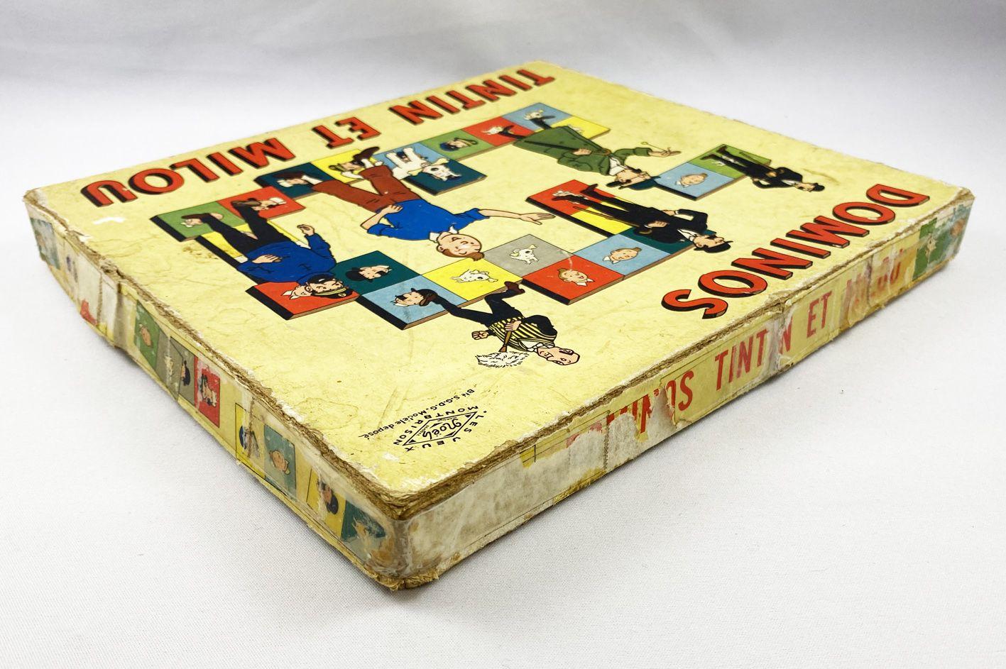 Tintin - Noël Montbrison 1969 Dominos Game