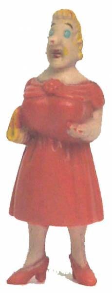 Tintin - Plastic figure Esso France Belvision - Castafiore
