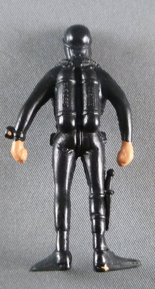 Tintin - Plastic figure Esso France Belvision - Frogmen standing