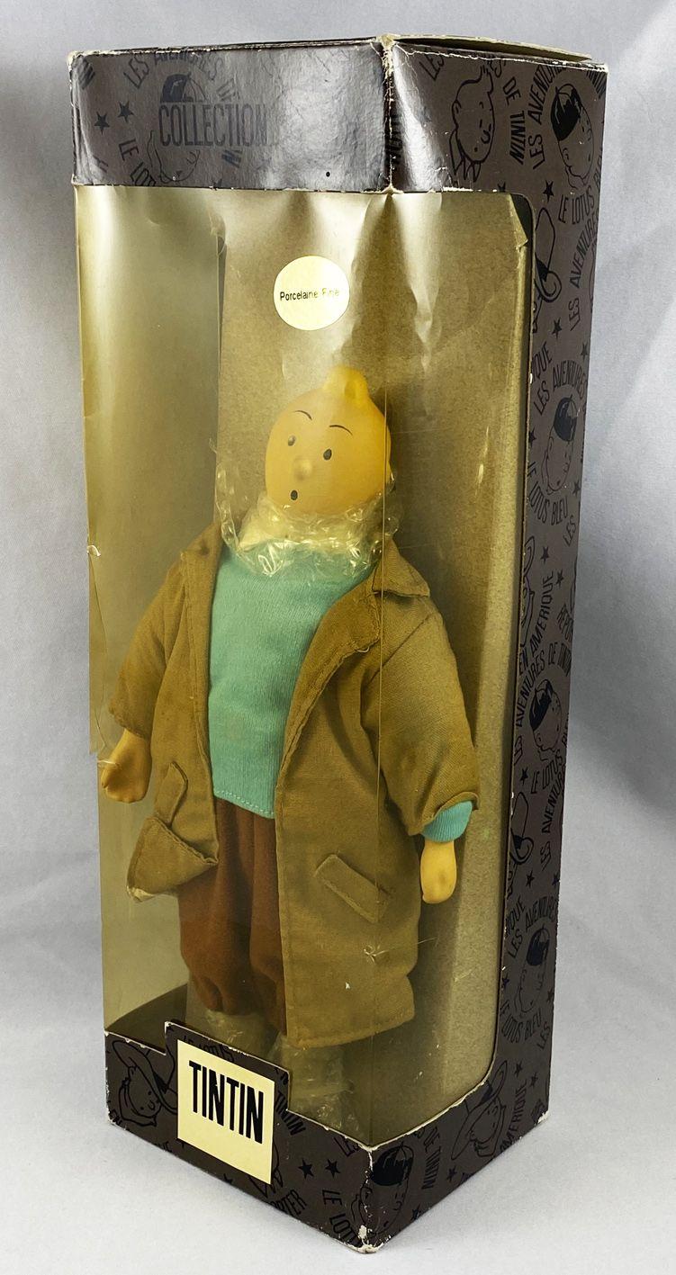 Tintin - Porcelain Doll - Tintin Reporter (mint in box)